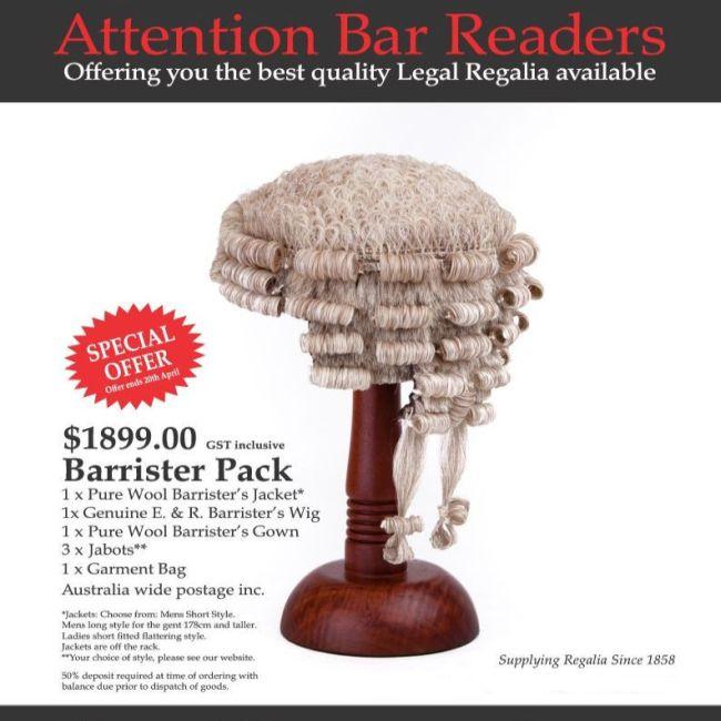Bar Readers Offer