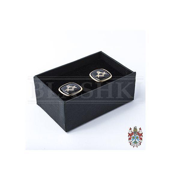 Cufflink Set, Black (Boxed)_400