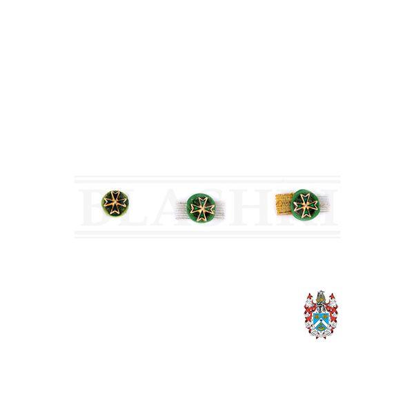 St Lazarus Rosette Lapel Pins-400