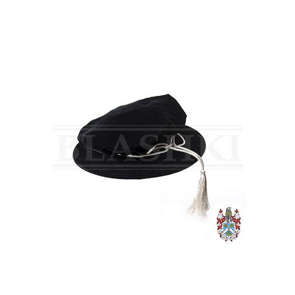 Velvet Doctoral Bonnet-400