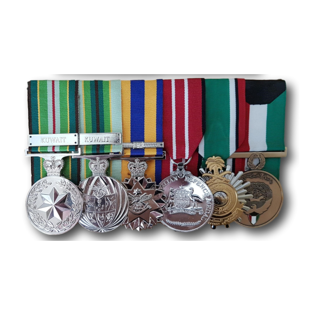 Court Mount Replica Medals (Full-size)