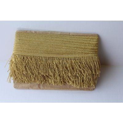 500_50 Metalloplastique Thread fringe gold sm